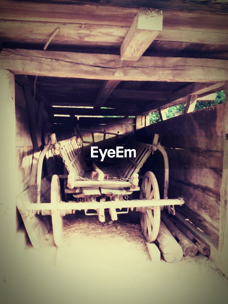 transportation, mode of transport, wood - material, no people, day, indoors, mammal