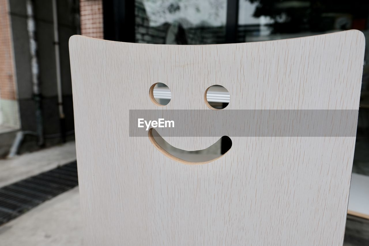 Smiling chair