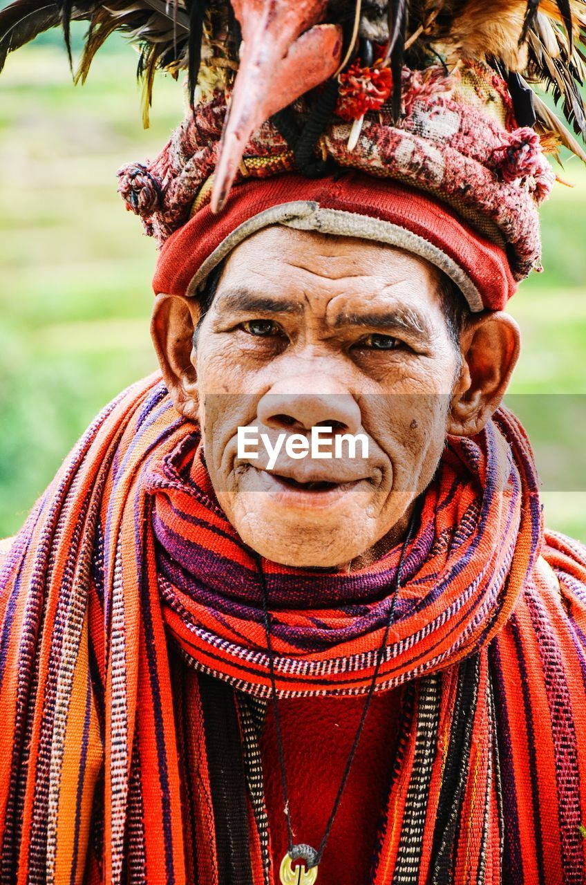 human face, real people, senior adult, outdoors, senior men, men, portrait, human body part, one person, turban, one man only, lifestyles, only men, day, close-up, adult, tree, adults only, people