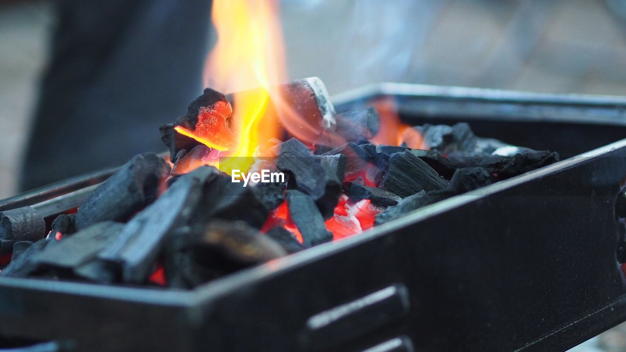 burning, fire, heat - temperature, fire - natural phenomenon, flame, wood, nature, wood - material, log, coal, selective focus, no people, close-up, glowing, outdoors, food, firewood, barbecue, day, high angle view, bonfire
