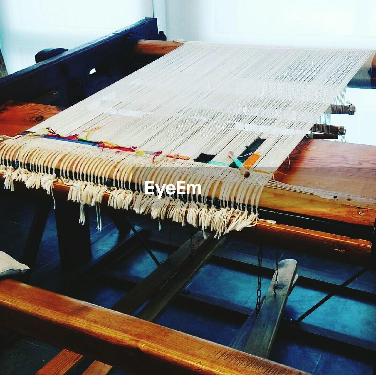 Loom In Factory
