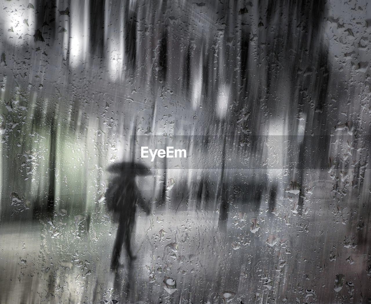 rain, wet, rainy season, weather, drop, raindrop, rainfall, water, window, condensation, day, indoors, full frame, real people, nature, dripping