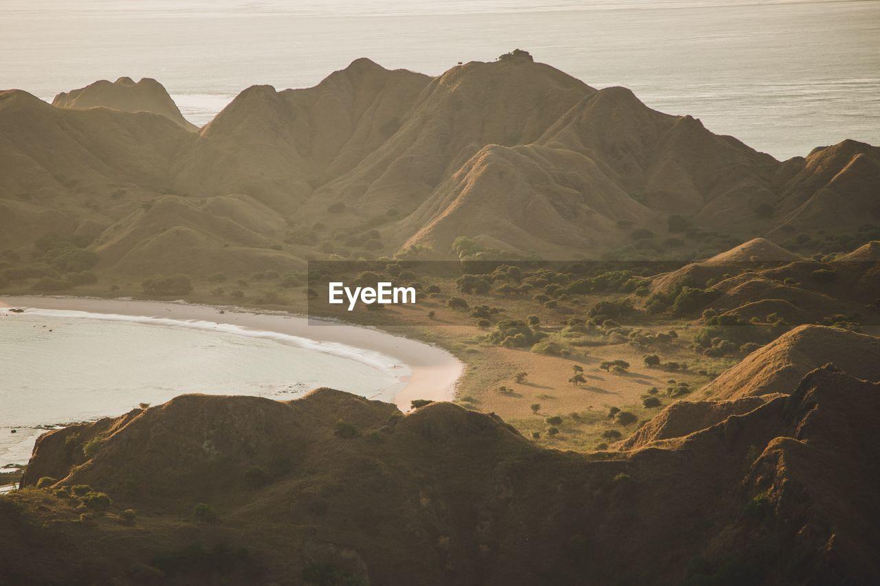 SCENIC VIEW OF ARID LANDSCAPE