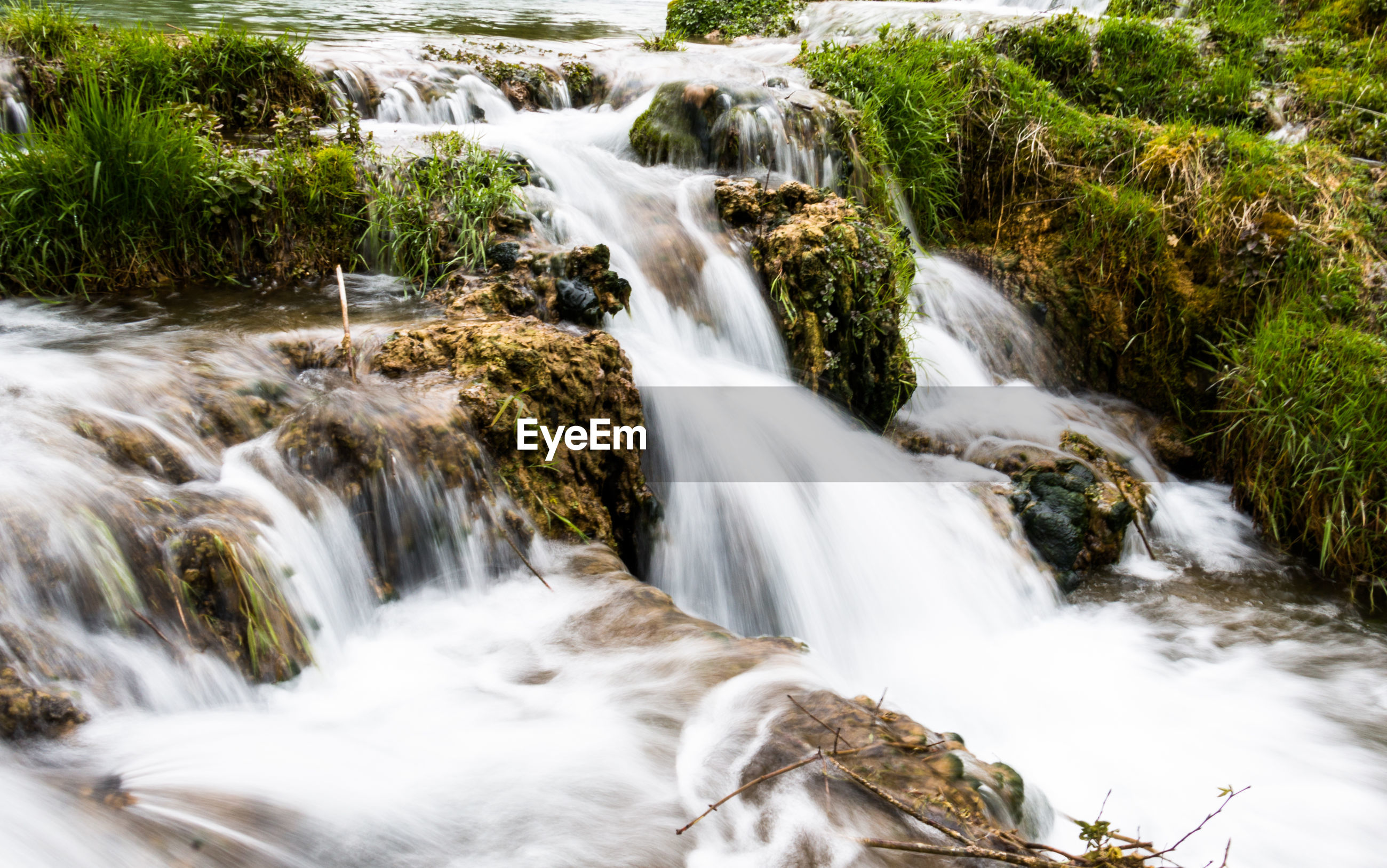 waterfall, long exposure, scenics - nature, flowing water, beauty in nature, water, motion, blurred motion, forest, rock, no people, plant, flowing, rock - object, environment, solid, nature, land, tree, outdoors, power in nature, stream - flowing water, falling water, rainforest