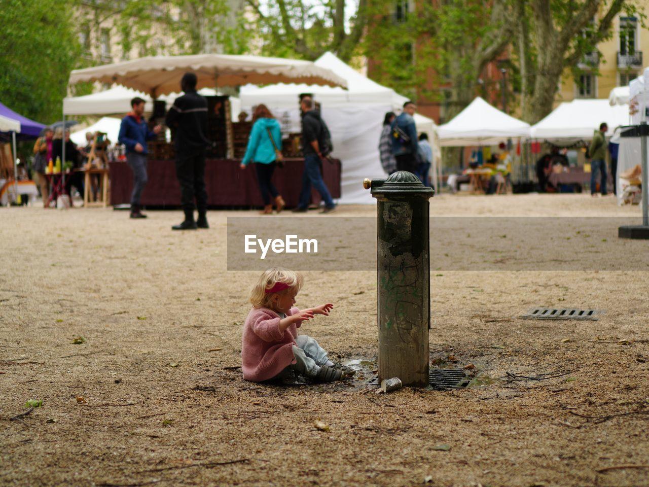Focus Market Life Is Brutal Children