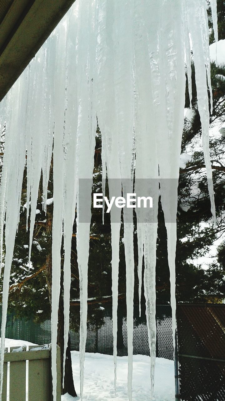 cold temperature, winter, snow, weather, frozen, nature, ice, day, cold, no people, beauty in nature, white color, icicle, outdoors, tree, tranquility, water, scenics, sky, close-up