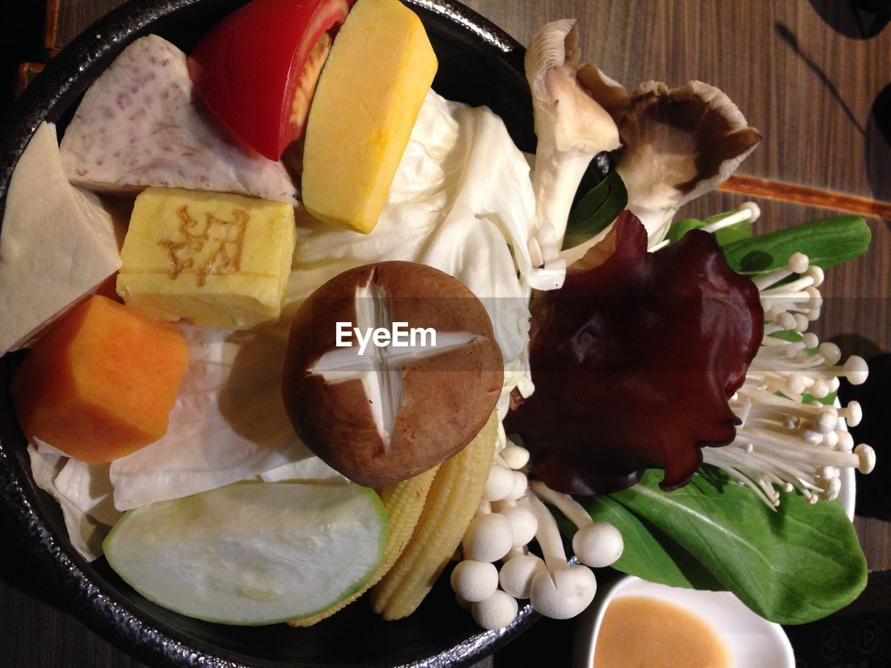 food, food and drink, healthy eating, no people, vegetable, freshness, indoors, directly above, fruit, close-up, ready-to-eat, day, mammal
