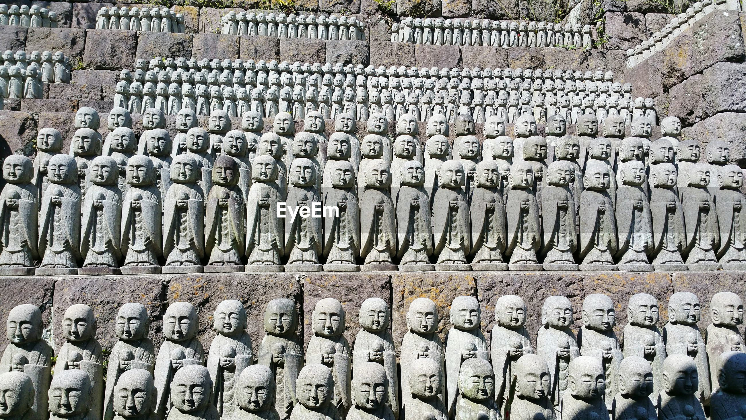 Statues of jizo at hase temple
