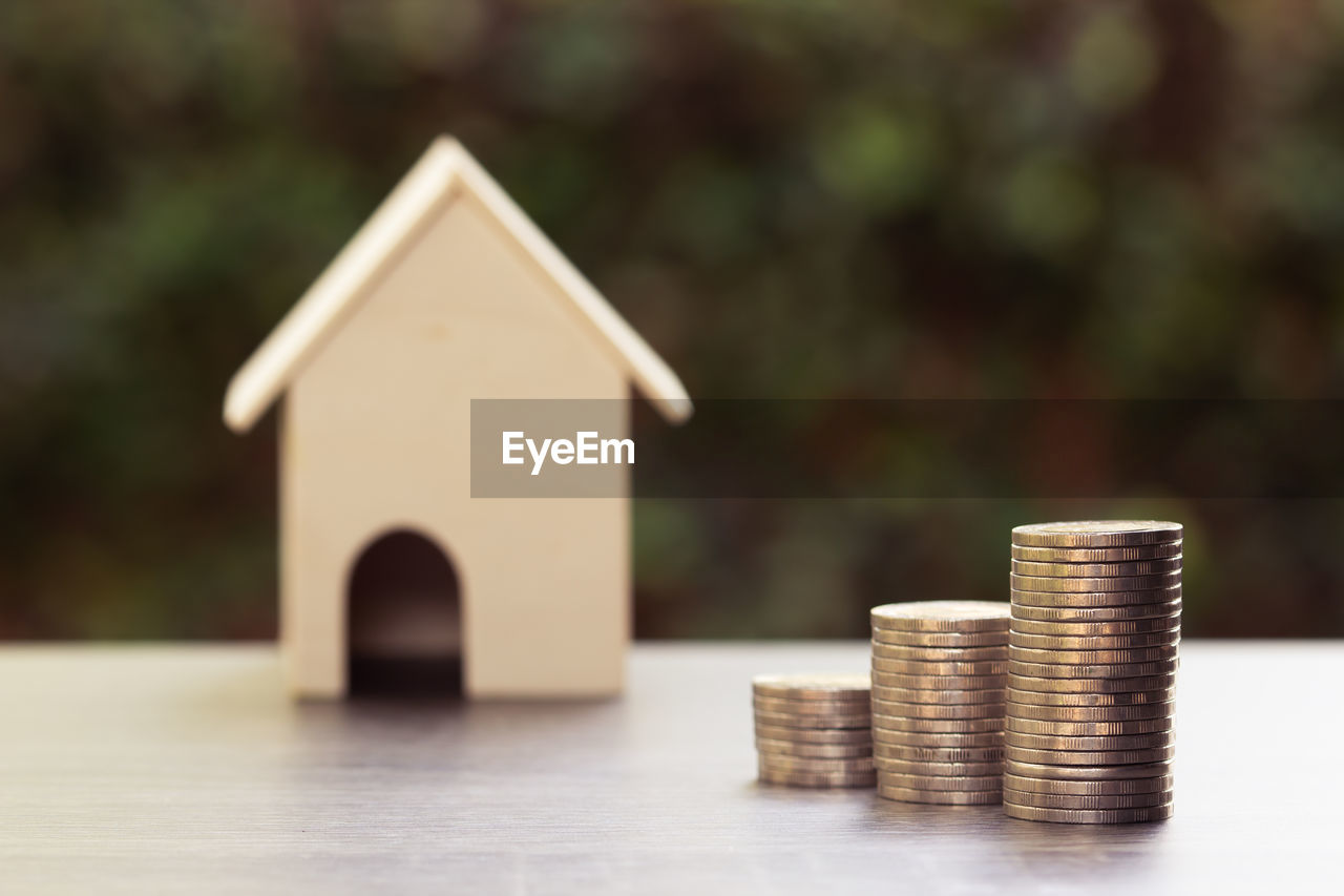 finance, coin, business, savings, stack, wealth, investment, currency, growth, focus on foreground, no people, gold colored, wood - material, selective focus, nature, table, close-up, day, built structure, architecture, economy, making money