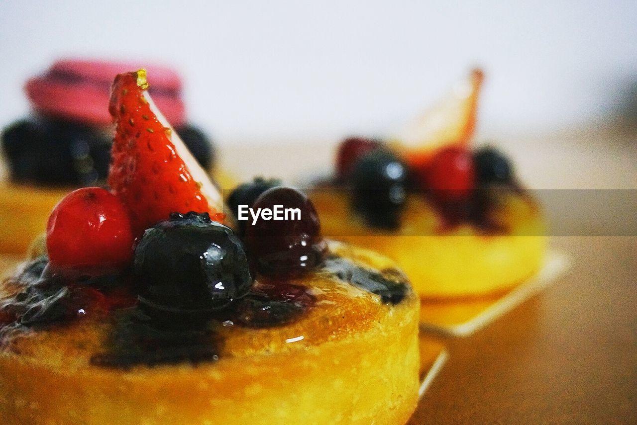 Detail Shot Of Pastries