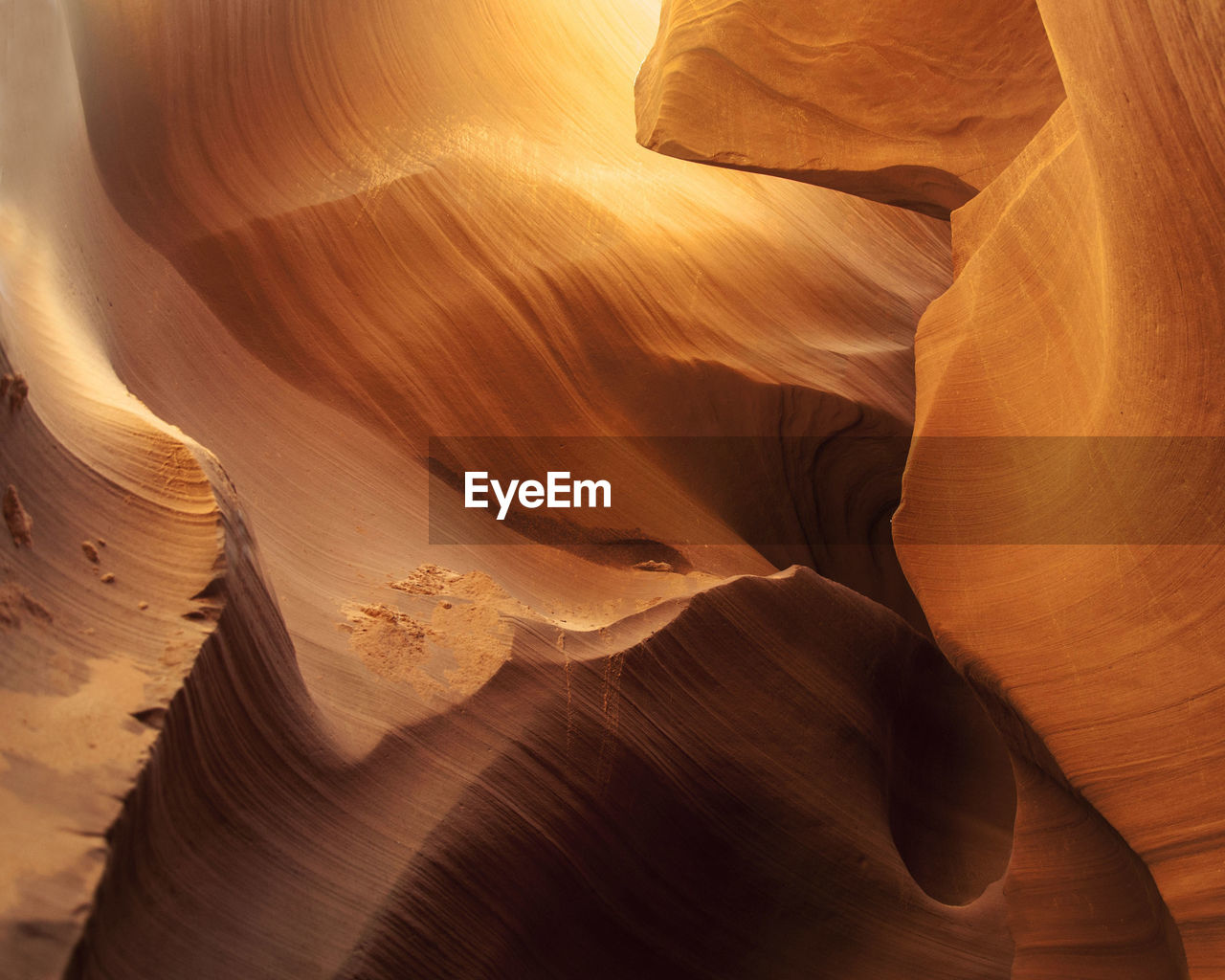 Full frame shot of rock formations at canyon