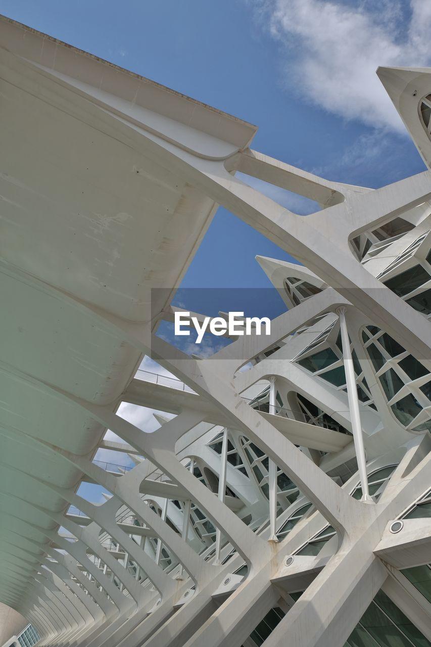 LOW ANGLE VIEW OF BRIDGE AND SKY