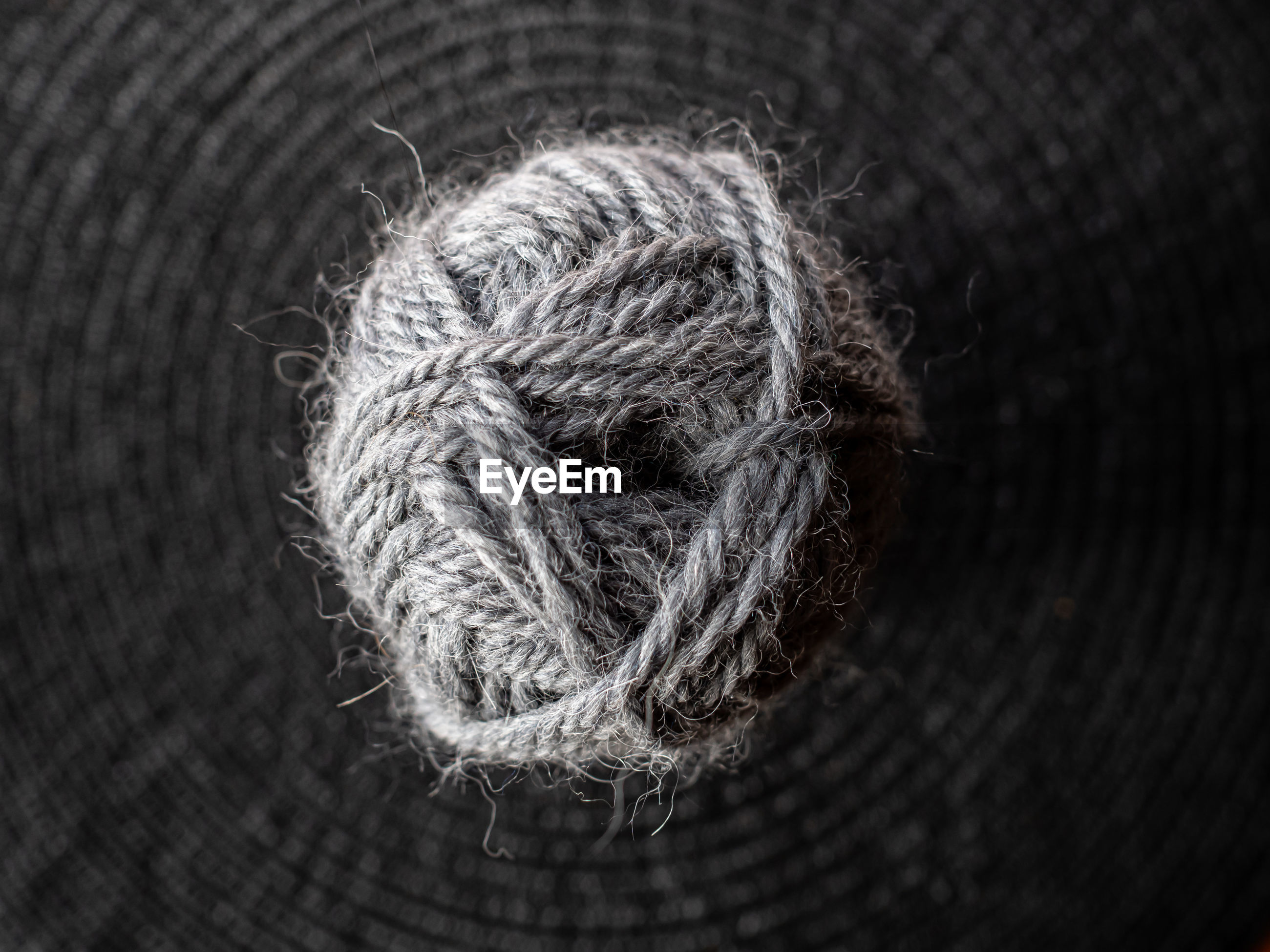 Close-up of wool ball