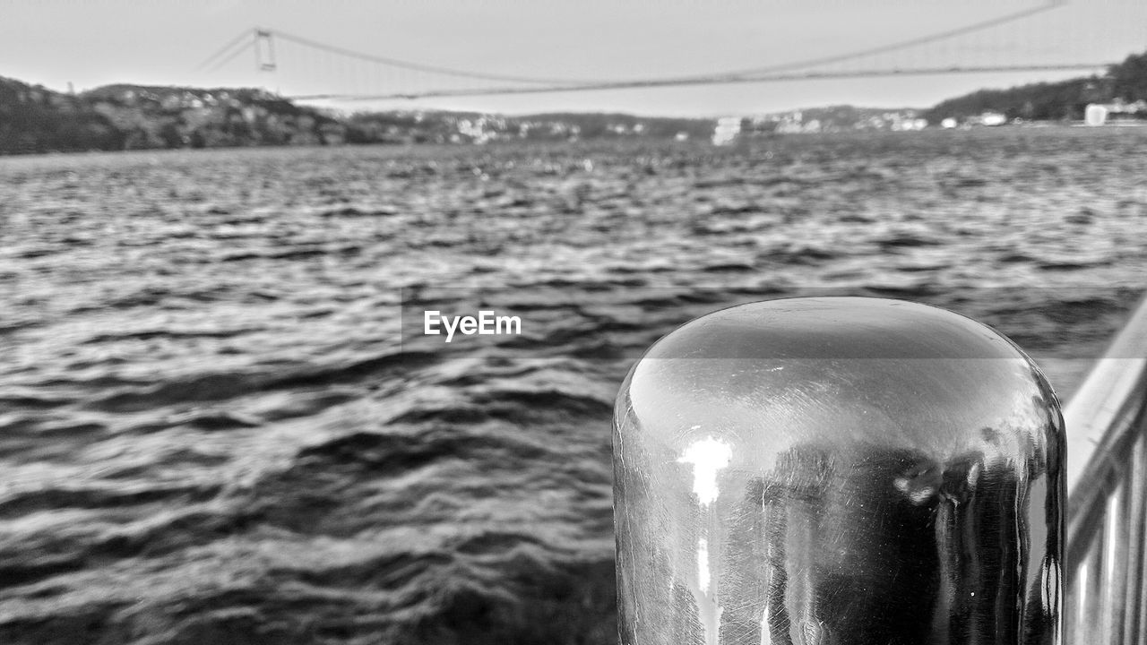 water, focus on foreground, no people, close-up, day, outdoors, sky