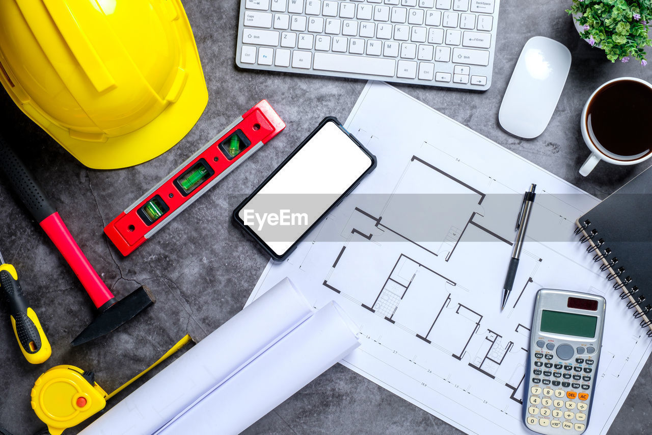 computer, technology, connection, computer equipment, high angle view, table, still life, keyboard, computer keyboard, wireless technology, communication, no people, work tool, indoors, equipment, pen, furniture, desk, laptop, calculator, blueprint