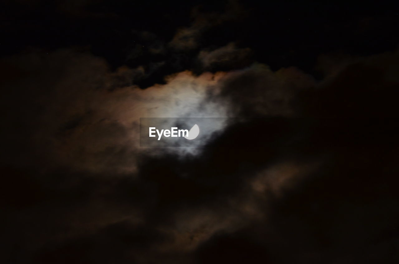moon, astronomy, night, sky, cloud - sky, scenics, eclipse, nature, beauty in nature, space exploration, solar eclipse, dark, space, majestic, tranquility, natural phenomenon, low angle view, no people, tranquil scene, outdoors, moonlight, crescent, half moon