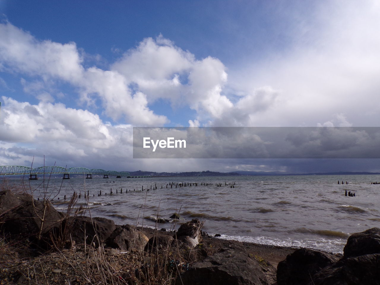sea, water, scenics, nature, beauty in nature, sky, tranquility, tranquil scene, horizon over water, beach, outdoors, cloud - sky, day, no people