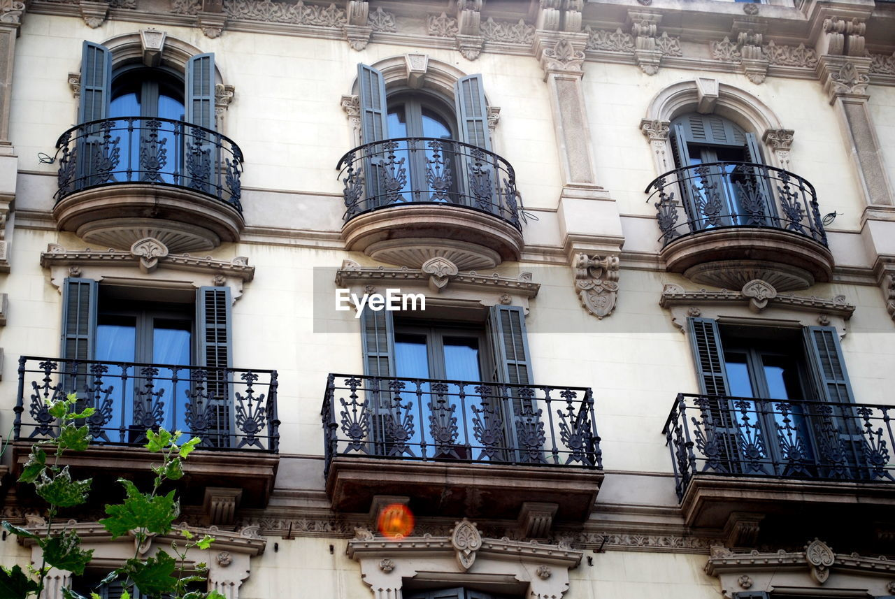 Apartment Architecture Balcony Building Exterior Built Structure City Day Low Angle View No People Outdoors Railing Window