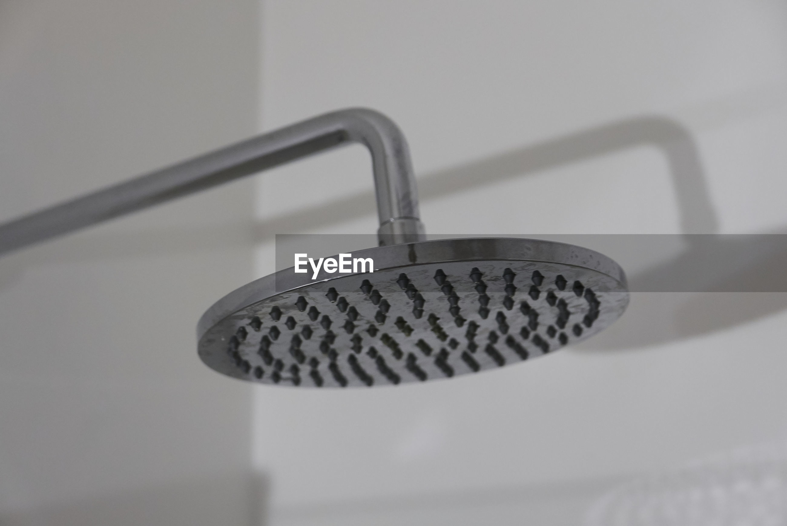 Close-up of shower head
