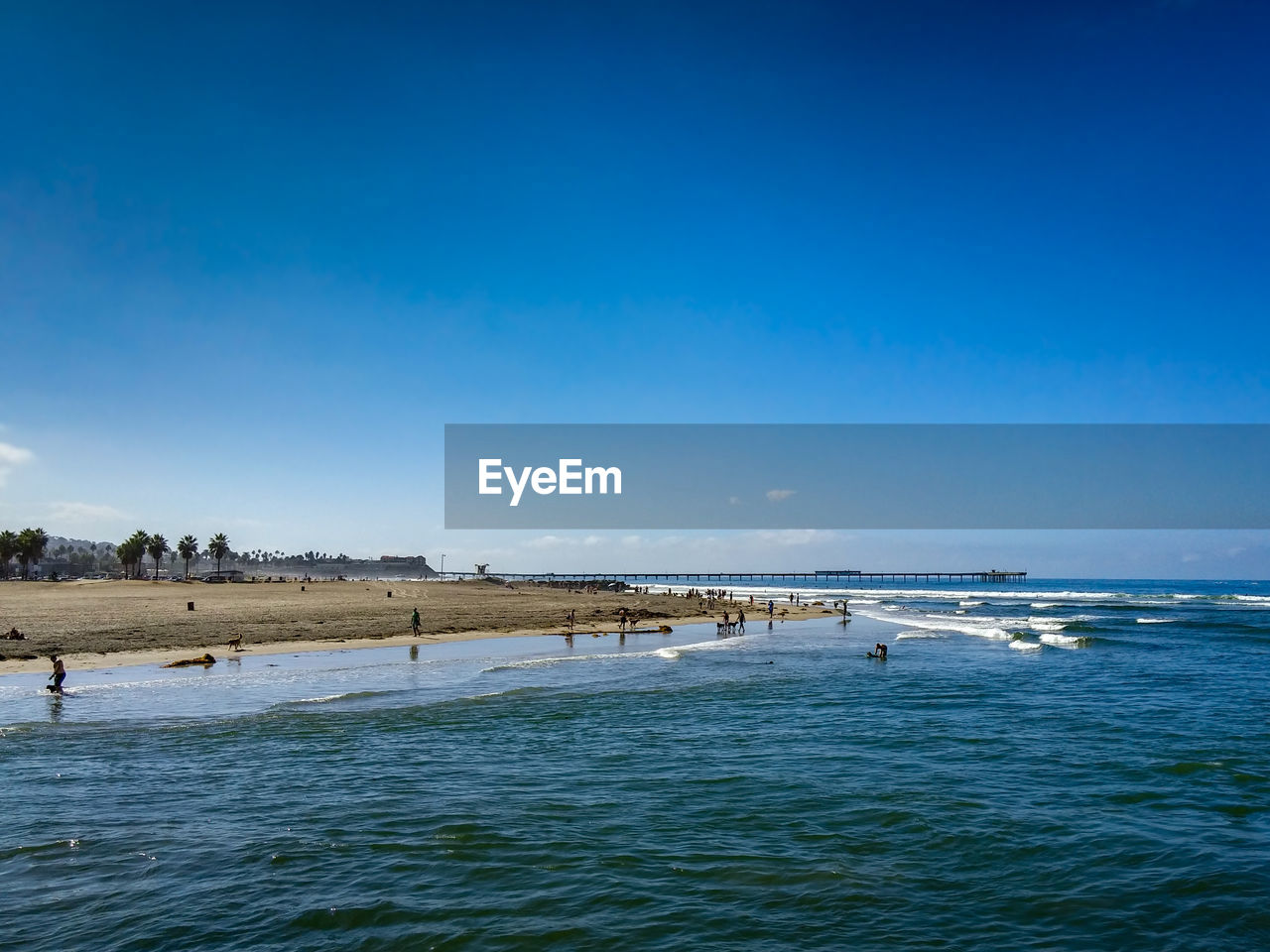 water, blue, sky, sea, scenics - nature, beauty in nature, land, copy space, tranquil scene, waterfront, beach, tranquility, nature, day, non-urban scene, no people, idyllic, outdoors