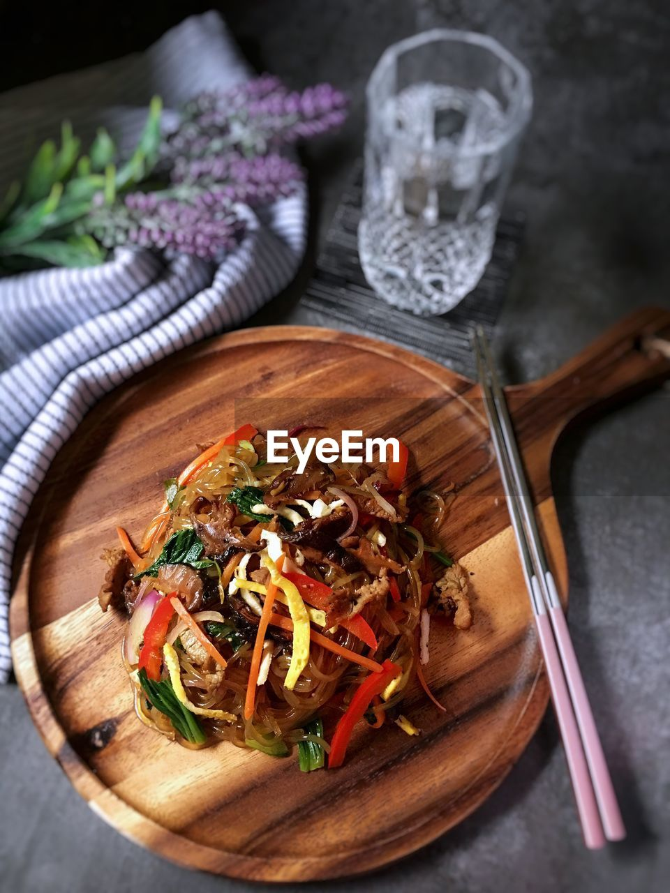 food and drink, food, freshness, ready-to-eat, kitchen utensil, eating utensil, healthy eating, table, wellbeing, indoors, vegetable, no people, close-up, still life, spoon, household equipment, serving size, fork, high angle view, plate, herb, garnish, temptation, dinner