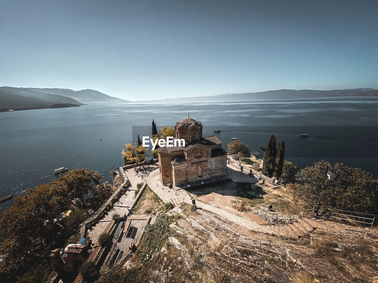 Lake ohrid kaneo church
