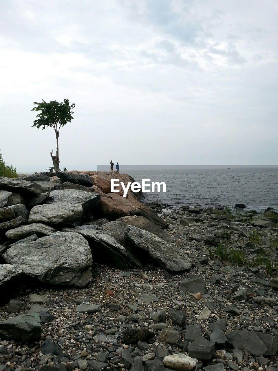 View of groyne