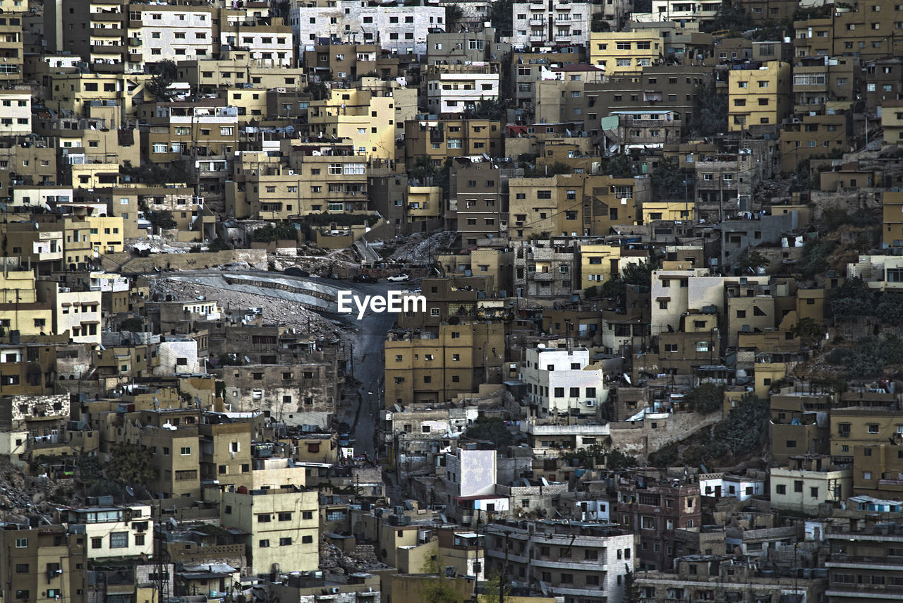 Houses and buildings in east amman