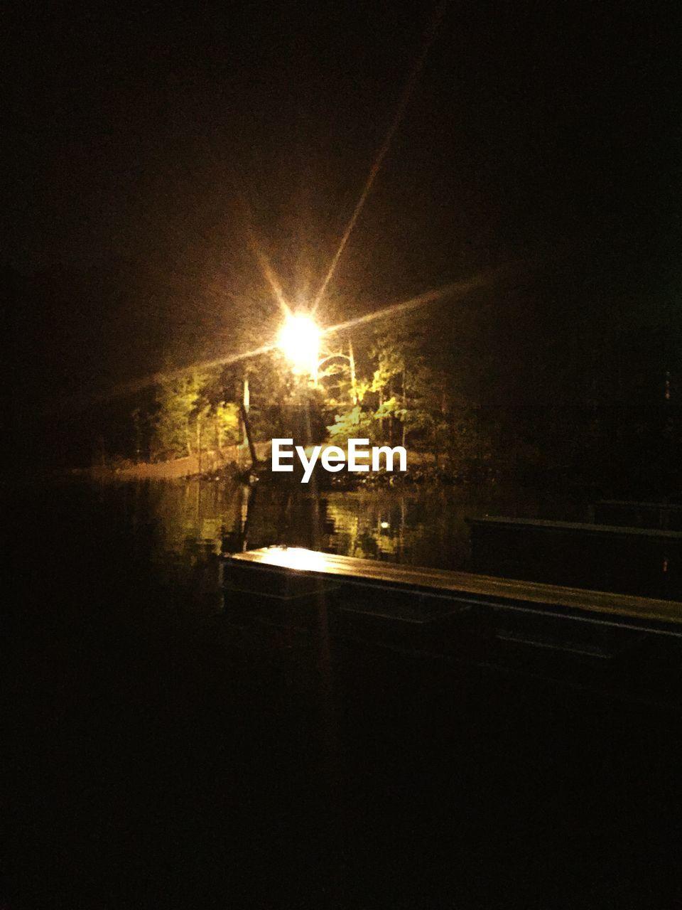 illuminated, night, outdoors, no people, transportation, street light, nature, tree, sky, city