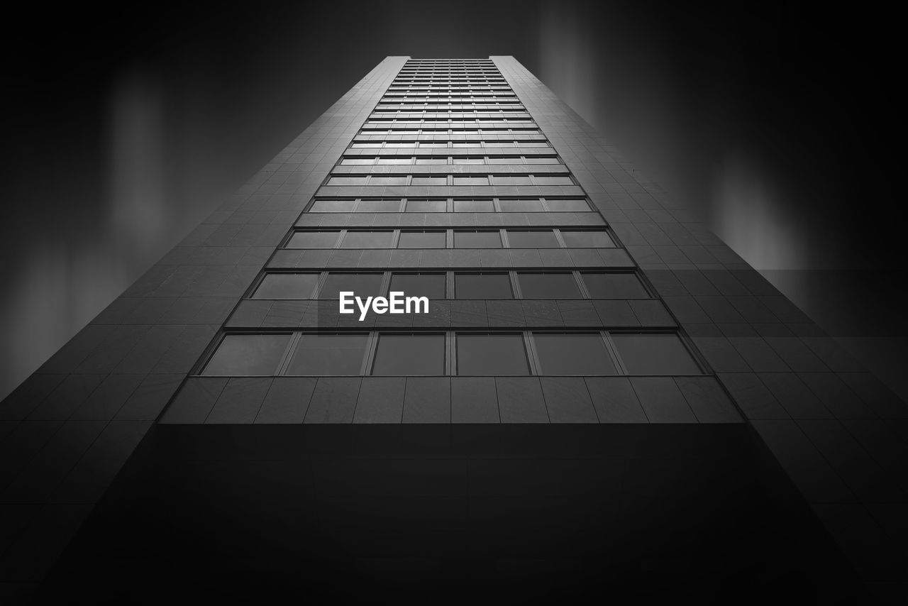Low Angle View Of Tall Building Against The Sky