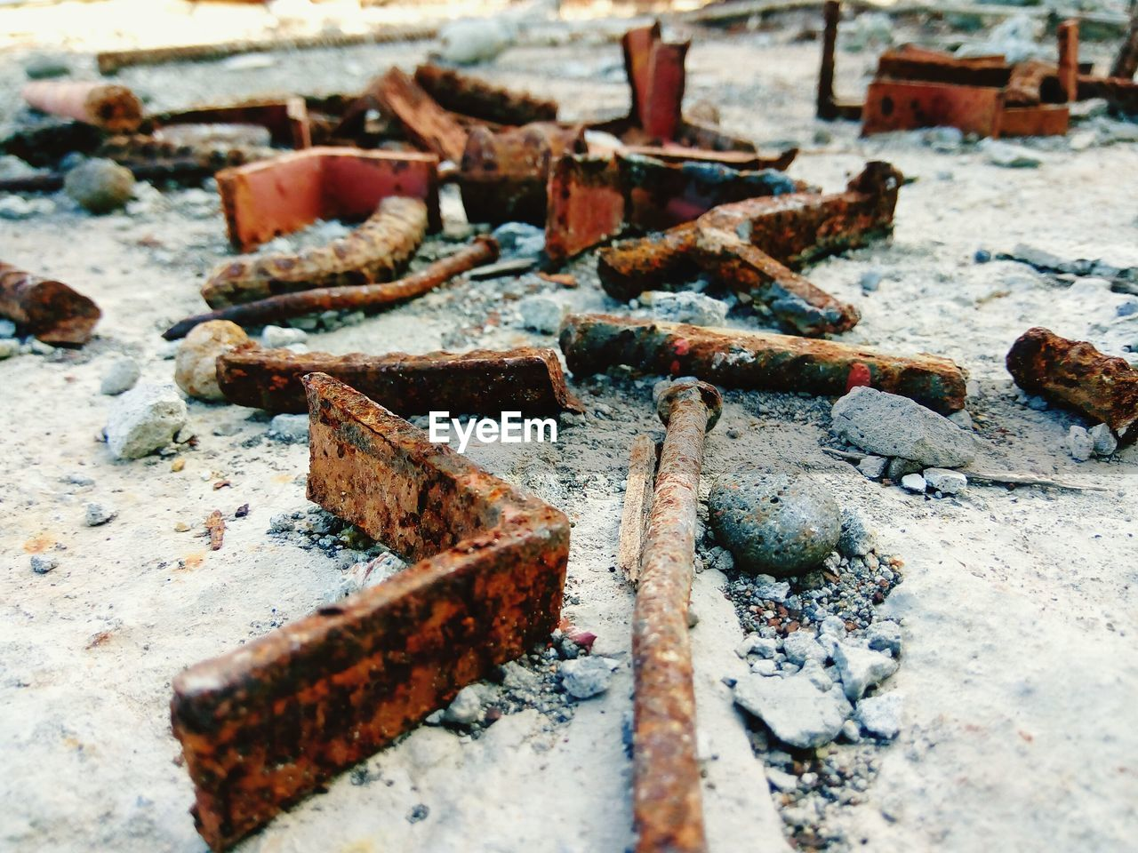rusty, damaged, obsolete, metal, deterioration, abandoned, run-down, weathered, no people, day, work tool, nut - fastener, outdoors, close-up, bad condition, metal industry