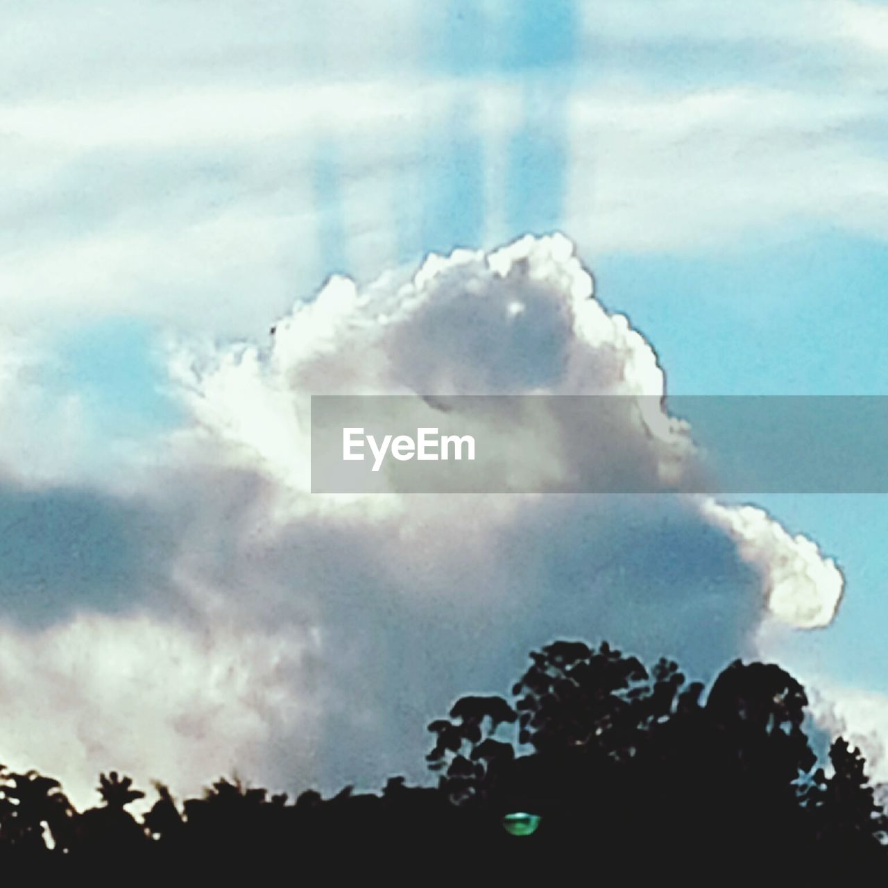 sky, cloud - sky, silhouette, nature, outdoors, beauty in nature, day, no people