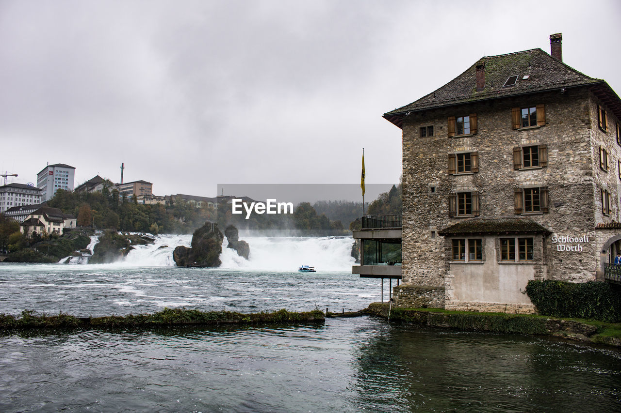 architecture, built structure, water, building exterior, sky, building, nature, motion, no people, day, cloud - sky, waterfront, travel destinations, outdoors, beauty in nature, travel, history, scenics - nature, the past, flowing water, power in nature