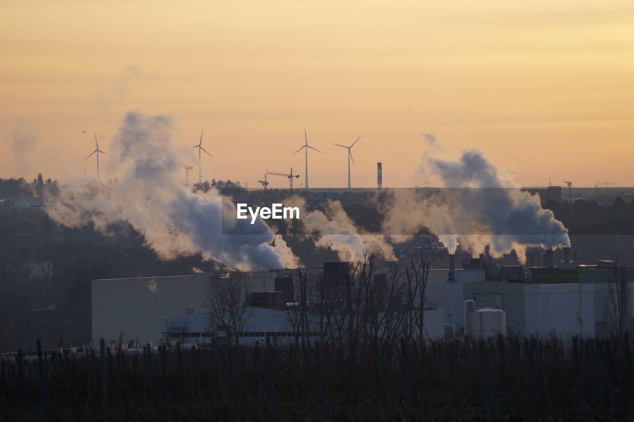 Smoke Emerging From Chimney