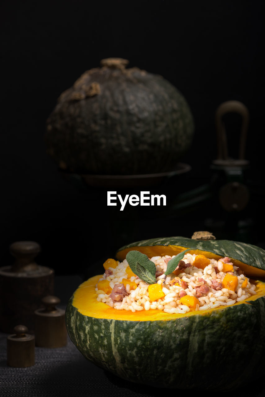 food and drink, food, freshness, indoors, ready-to-eat, no people, table, still life, healthy eating, close-up, studio shot, black background, wellbeing, bowl, fruit, indulgence, serving size, focus on foreground, selective focus, temptation
