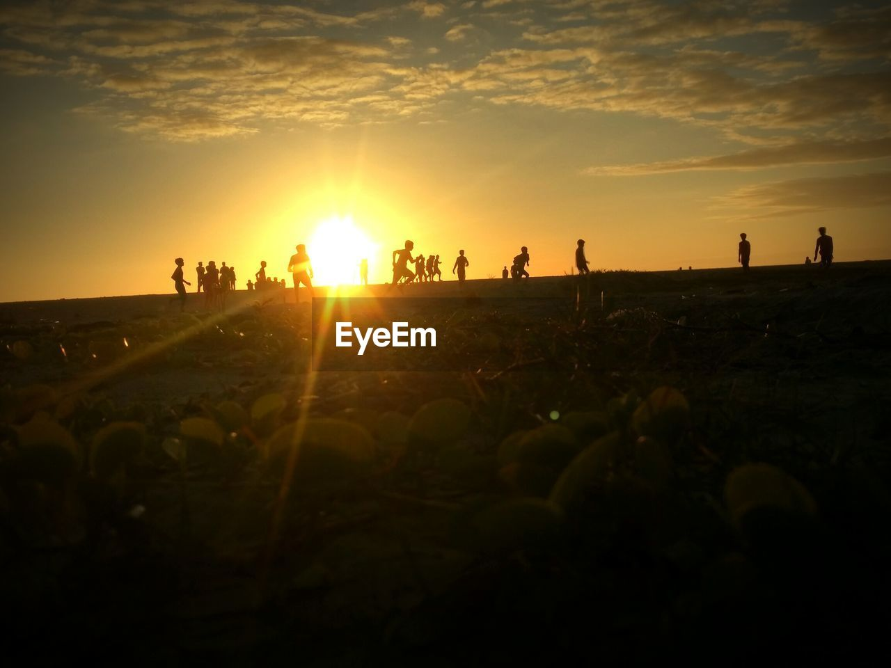 sunset, sun, silhouette, nature, large group of people, sunlight, real people, sky, leisure activity, men, outdoors, lifestyles, beauty in nature, people