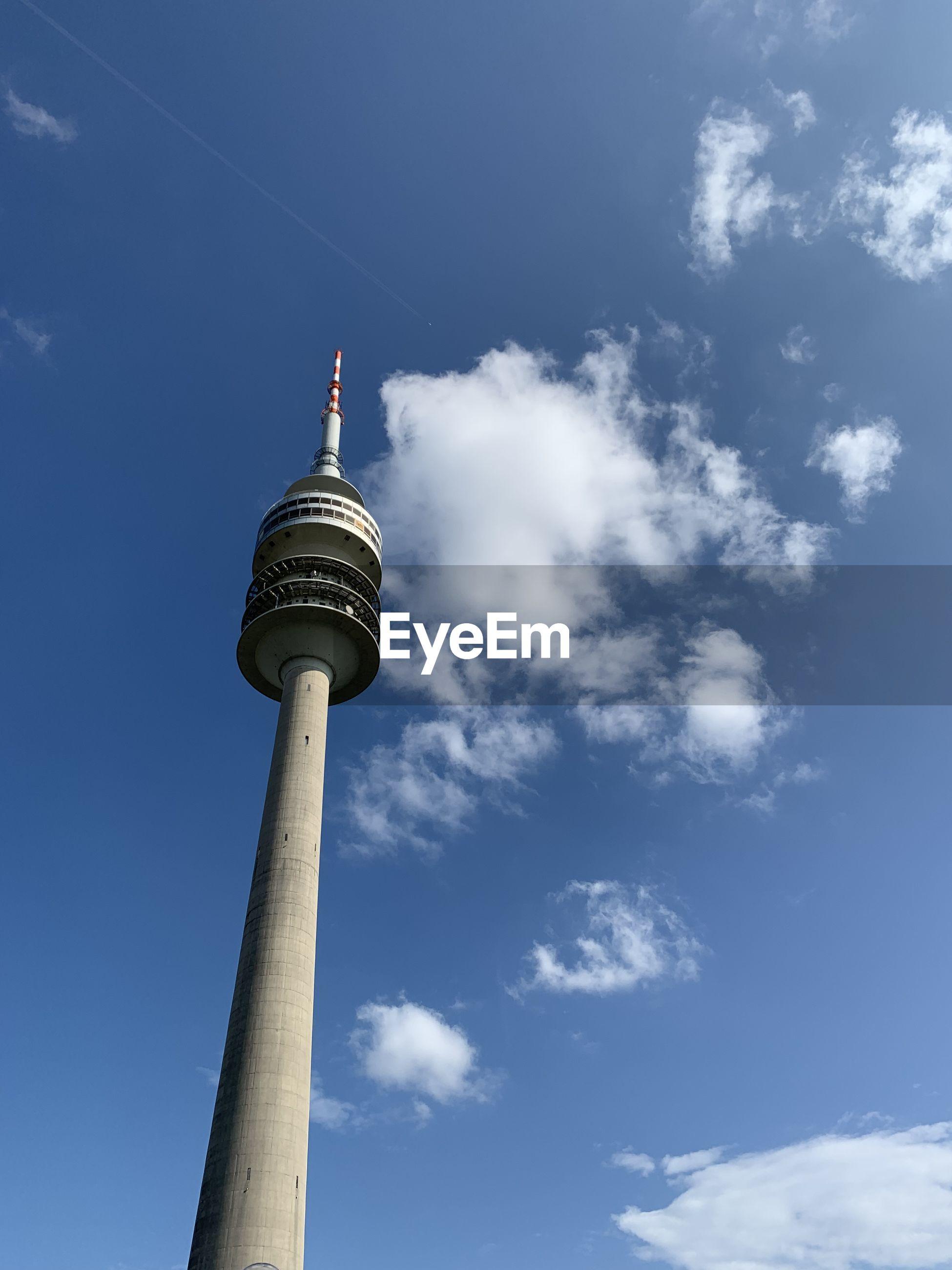 LOW ANGLE VIEW OF TOWER AGAINST SKY