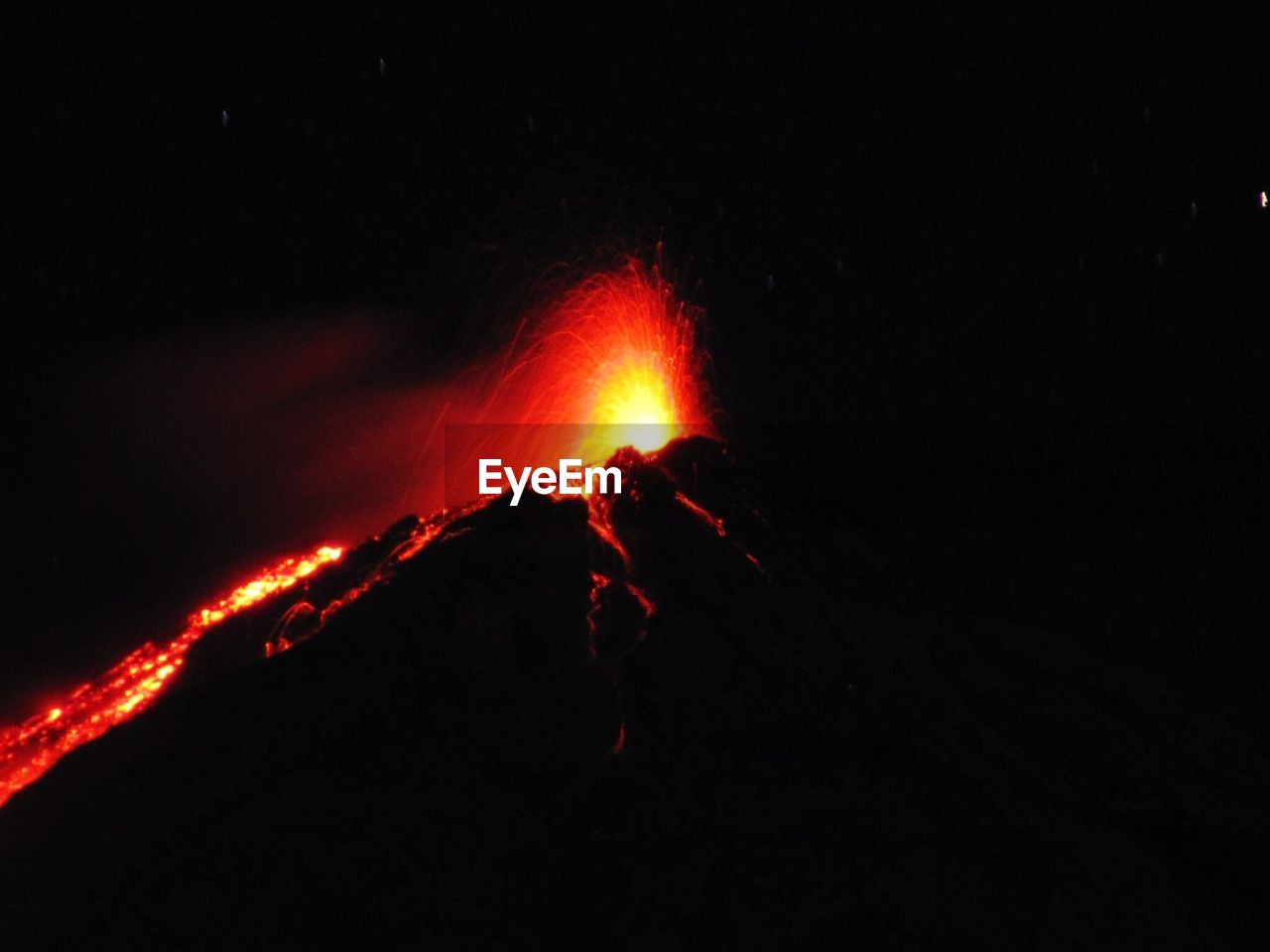 lava, night, volcano, heat - temperature, erupting, geology, glowing, volcanic crater, active volcano, outdoors, power in nature, danger, nature, no people, molten