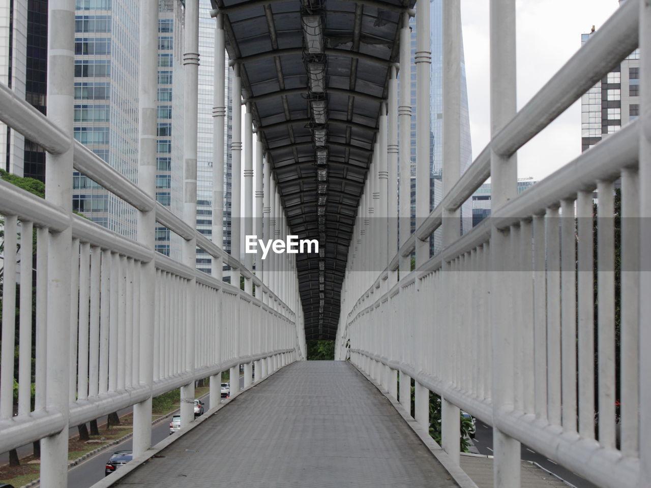 Elevated Walkway Over Road