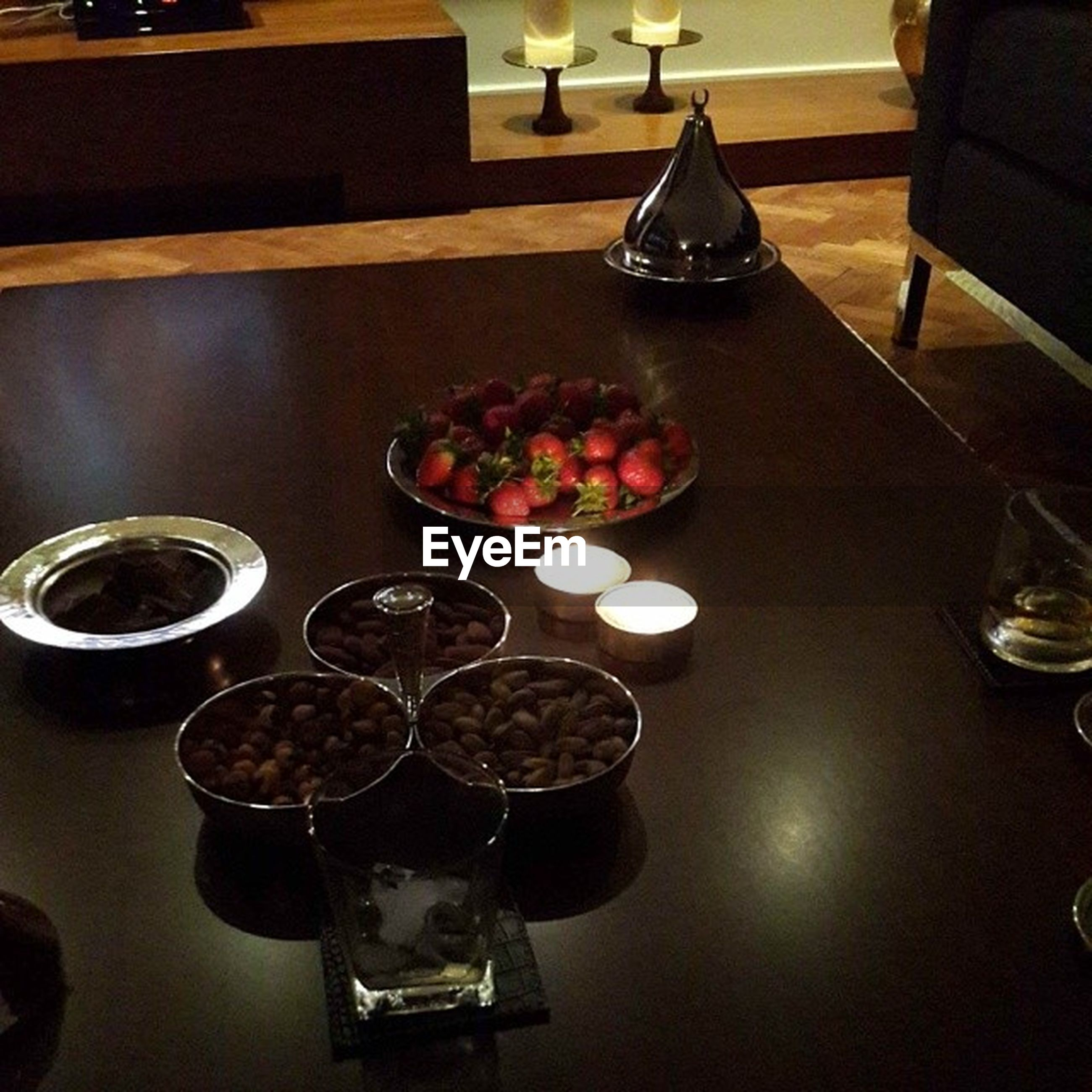 indoors, table, still life, arrangement, variation, food and drink, freshness, decoration, large group of objects, high angle view, home interior, no people, close-up, in a row, restaurant, vase, abundance, choice, plate, glass - material