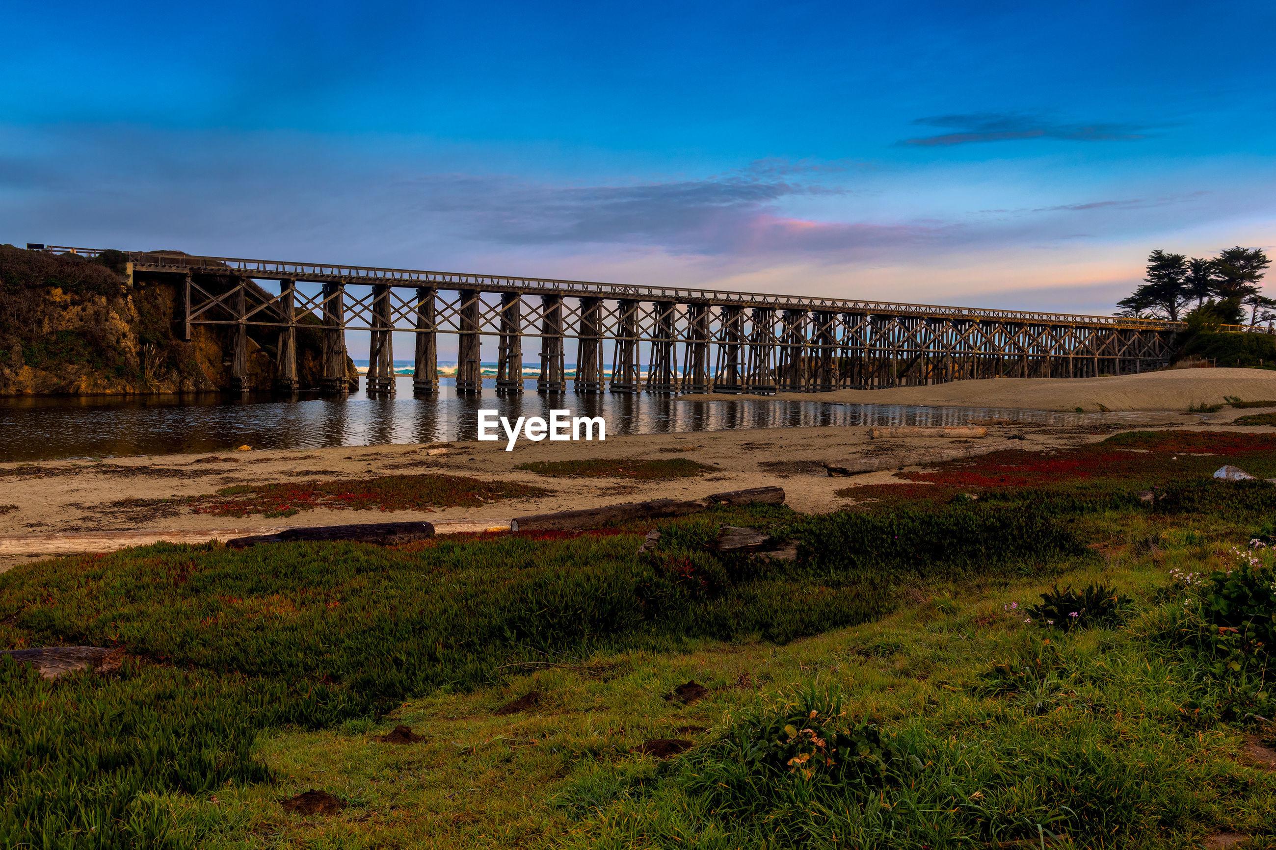 BRIDGE OVER LAND