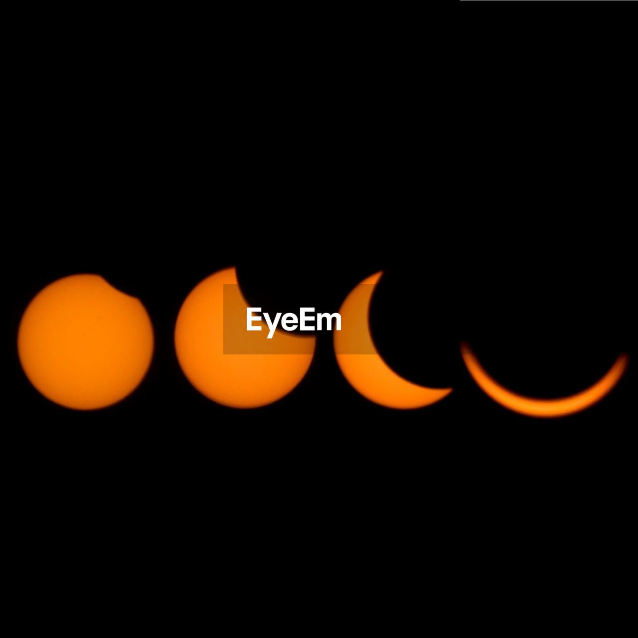 orange color, no people, night, black background, illuminated, nature, outdoors, beauty in nature, close-up, space, astronomy