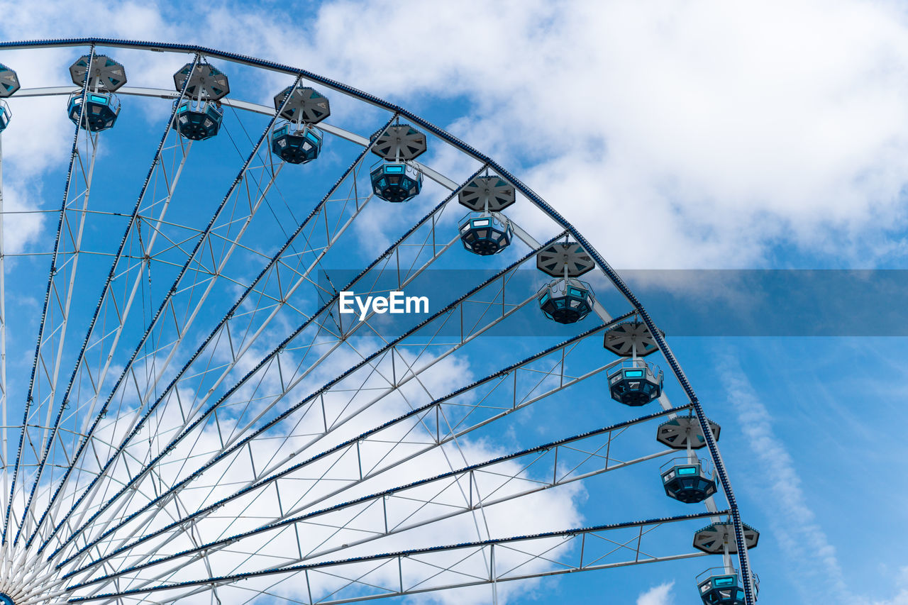 Cropped Ferris Wheel Against The Sky