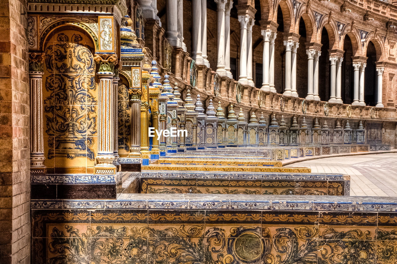 history, architectural column, travel destinations, architecture, travel, tourism, gold colored, built structure, baroque style, place of worship, indoors, no people, day, ancient civilization