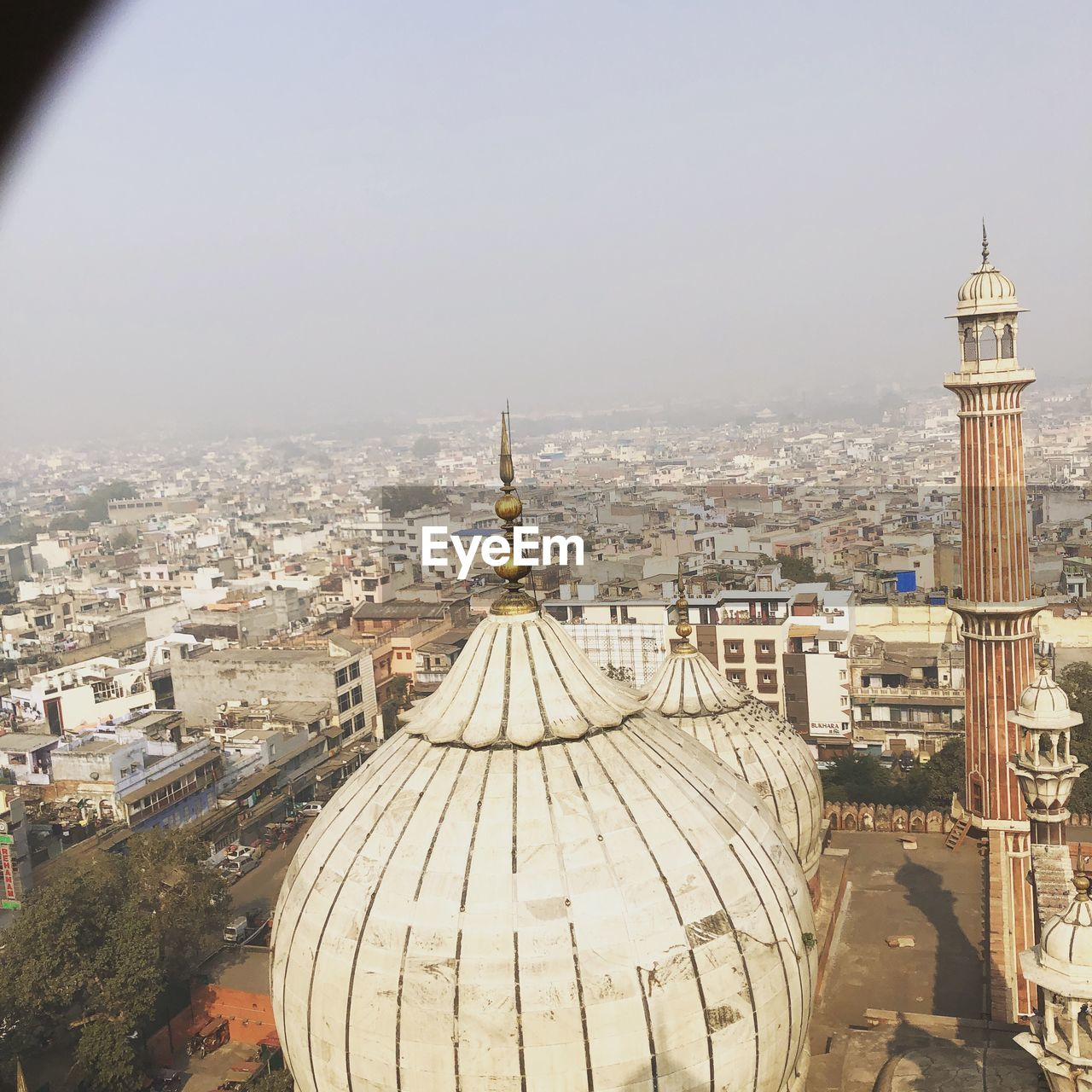 dome, high angle view, architecture, cityscape, built structure, building exterior, place of worship, city, religion, day, spirituality, travel destinations, outdoors, no people, roof, sky
