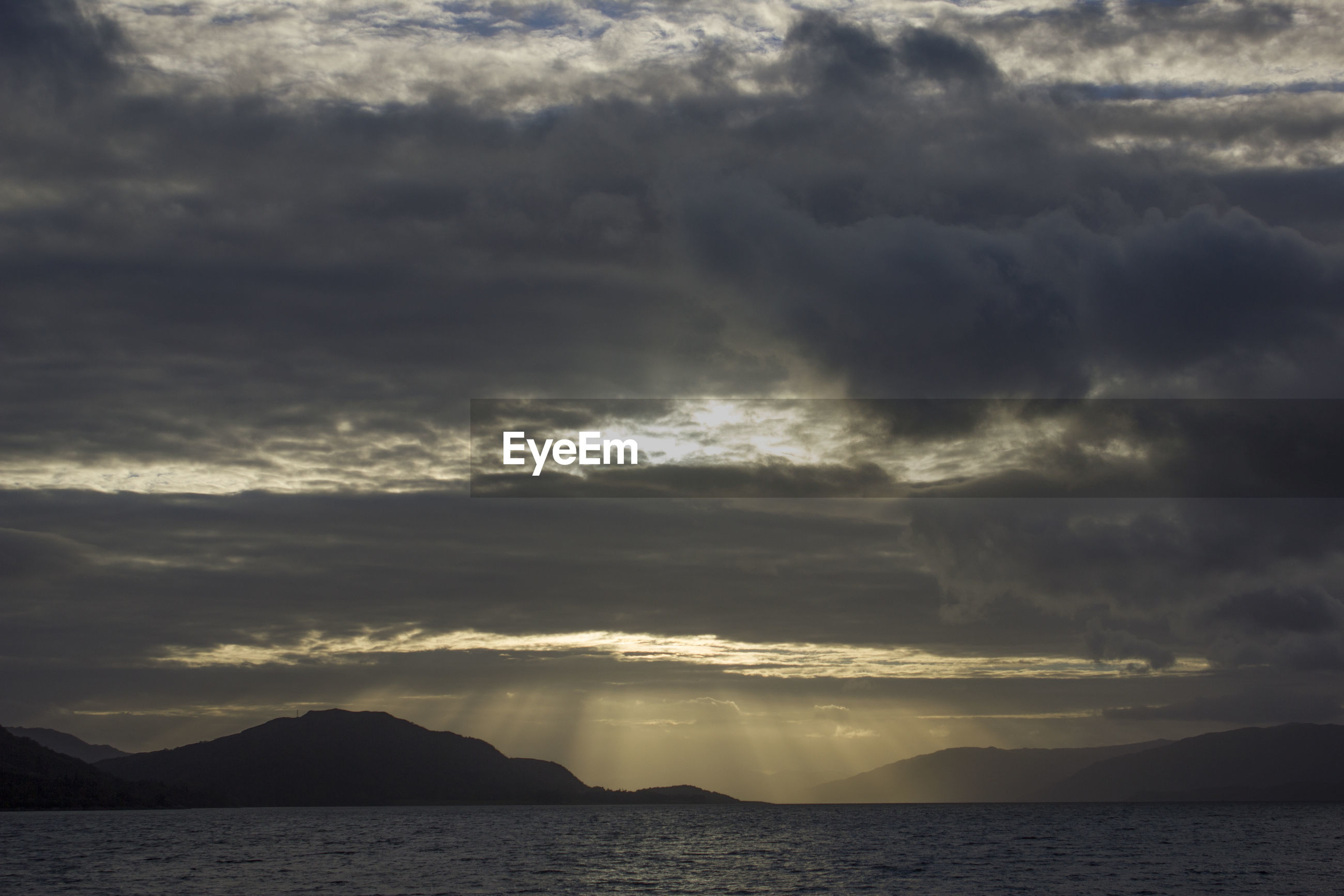 SCENIC VIEW OF DRAMATIC SKY