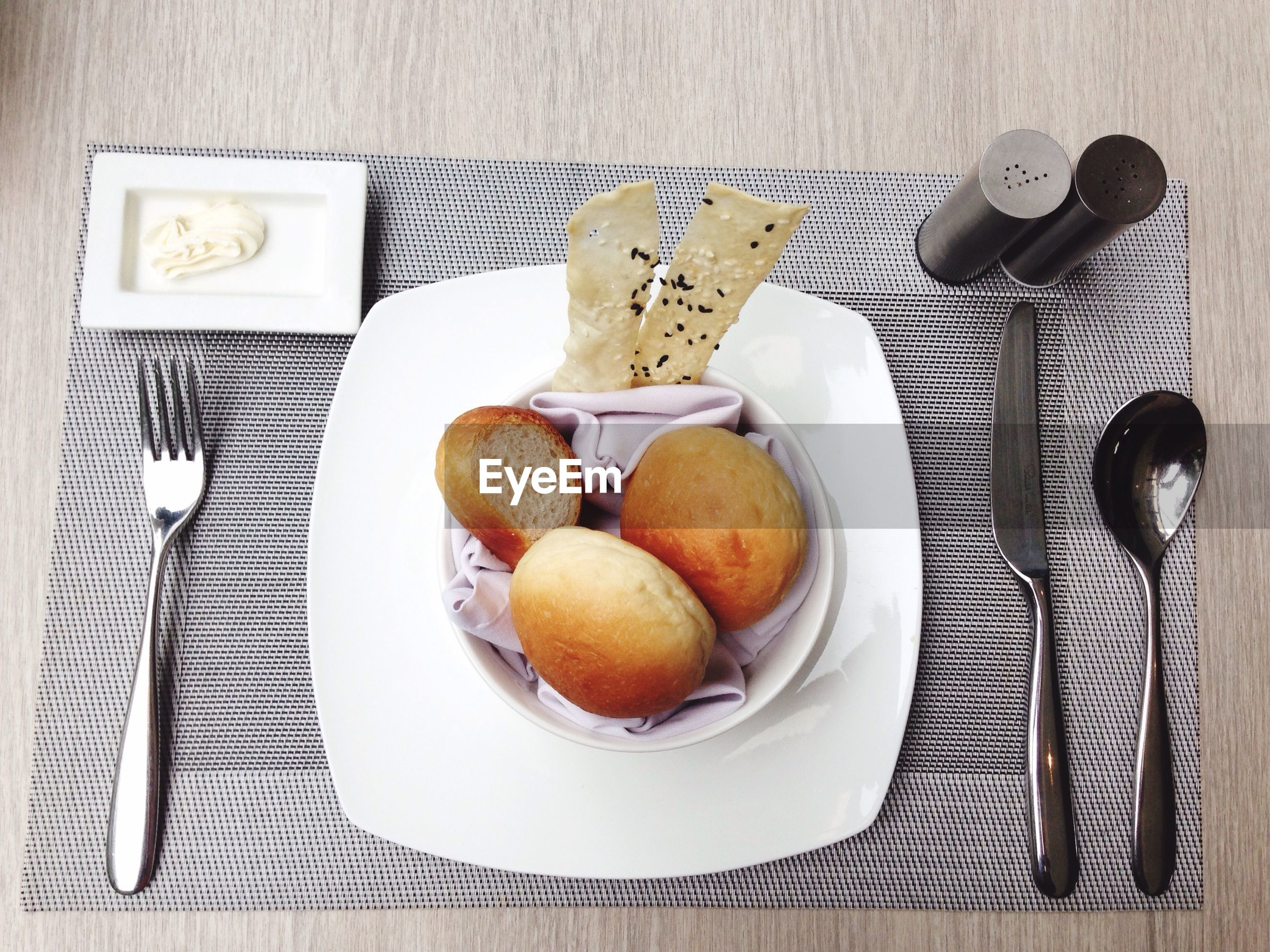 Food in plate