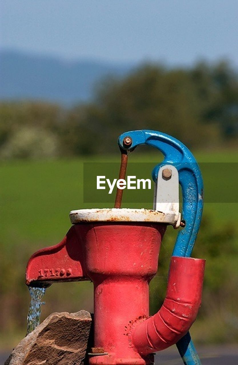 metal, focus on foreground, no people, outdoors, day, water, close-up, moored, nature, sky