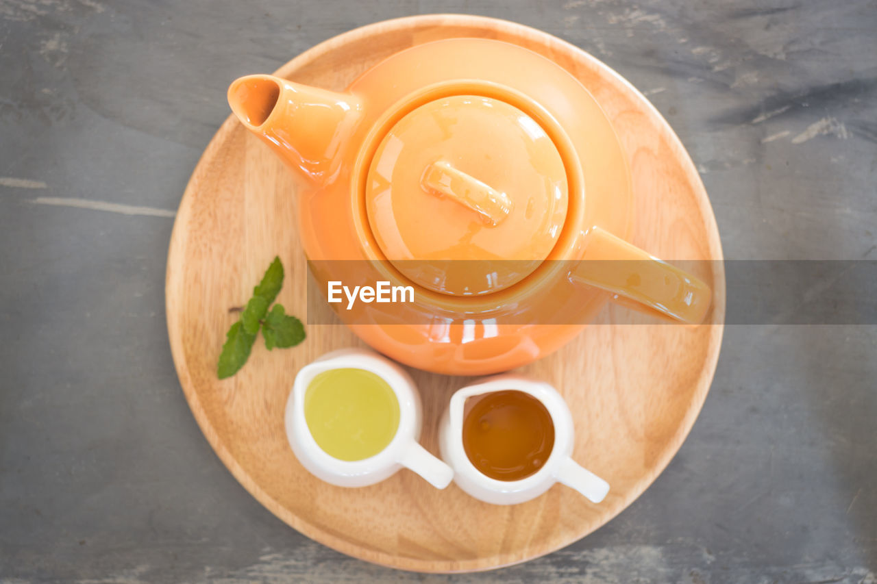 food and drink, table, still life, drink, freshness, refreshment, food, high angle view, tea, cup, indoors, no people, kitchen utensil, healthy eating, hot drink, wellbeing, spoon, mug, directly above, close-up, tea - hot drink, crockery, tea cup, non-alcoholic beverage
