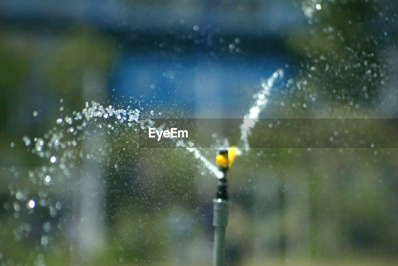 water, drop, wet, focus on foreground, nature, no people, rain, close-up, motion, outdoors, raindrop, selective focus, day, window, transparent, plant, rainy season, spraying, purity